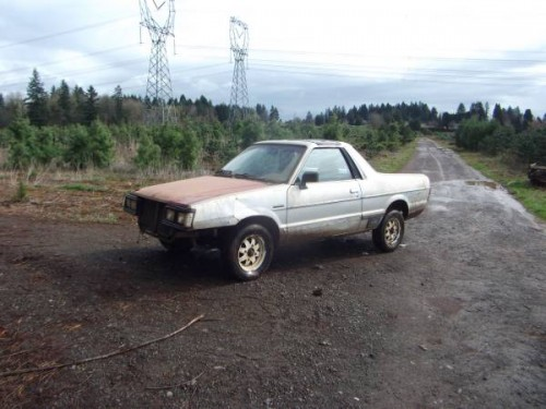 1984 subaru brat for sale in sandy or. Black Bedroom Furniture Sets. Home Design Ideas