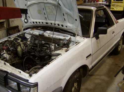 1985 Atlanta GA engine