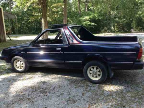 1986 subaru brat gl for sale in grant park il. Black Bedroom Furniture Sets. Home Design Ideas