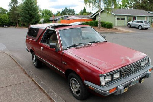 1986 subaru brat for sale in hillsboro or. Black Bedroom Furniture Sets. Home Design Ideas
