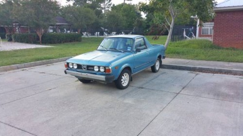 1981 subaru brat 4x4 manual for sale in baldwin alabama. Black Bedroom Furniture Sets. Home Design Ideas