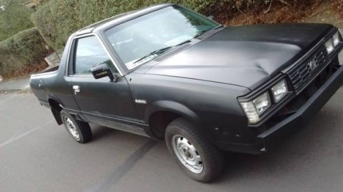 1983 subaru brat 5 speed manual for sale in portland oregon. Black Bedroom Furniture Sets. Home Design Ideas