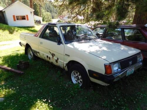 1986 & 82 Subaru BRAT Manual For Sale in South Dakota