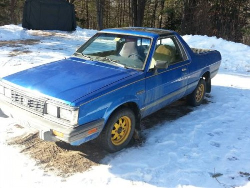 1986 subaru brat 4spd manual for sale in auburn maine. Black Bedroom Furniture Sets. Home Design Ideas