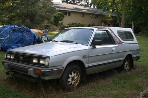 1986 subaru brat 1 8l v4 for sale in la porte indiana. Black Bedroom Furniture Sets. Home Design Ideas