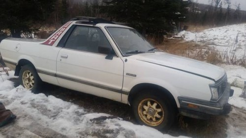 1986 subaru brat gl manual for sale in nikolaevsk alaska. Black Bedroom Furniture Sets. Home Design Ideas