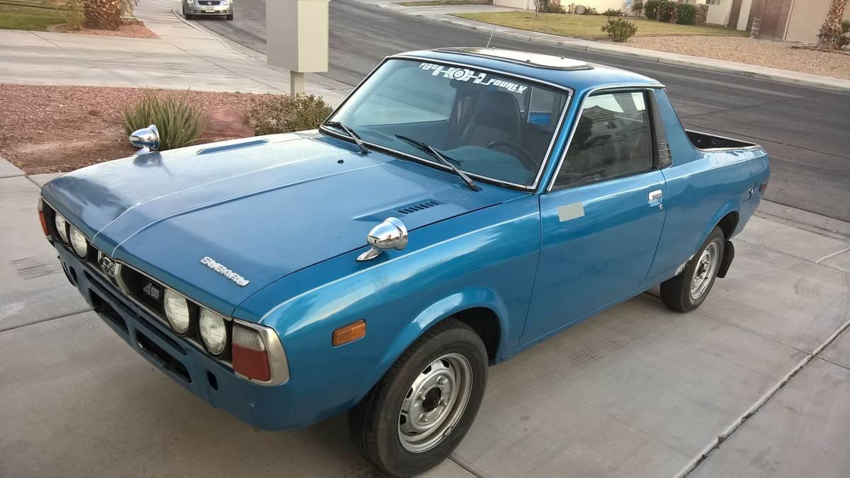 Ad Updates June 13th 2016 Subaru Brat Pickup For Sale
