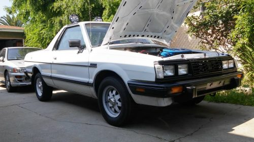 1986 subaru brat 4 speed manual for sale in montebello. Black Bedroom Furniture Sets. Home Design Ideas
