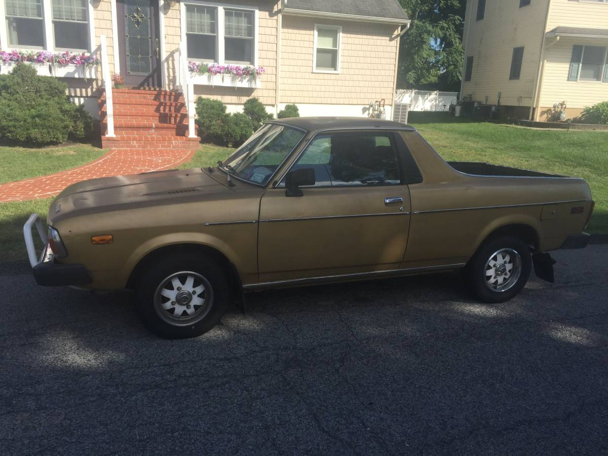 1978 subaru brat 4x4 v4 manual for sale in missoula montana. Black Bedroom Furniture Sets. Home Design Ideas